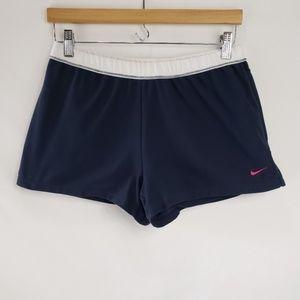 Nike Navy Blue Dri-Fit Shorts